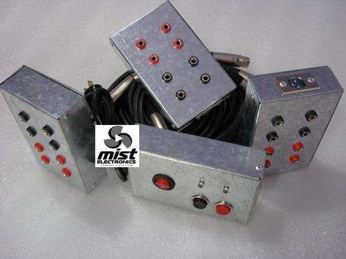 sistema pirotecnia por cables p/ chisperos mist electronics