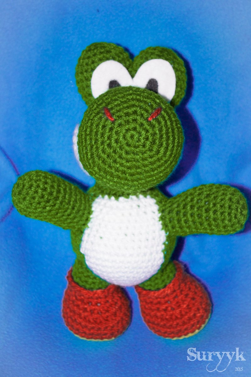 Yoshi Amigurumi Mercadolibre : Yoshi Wooly World Muneco Tejido Amigurumi - USD 270.00 en ...